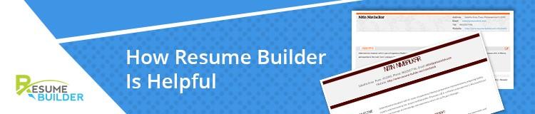 How Resume Builder Is Helpful?