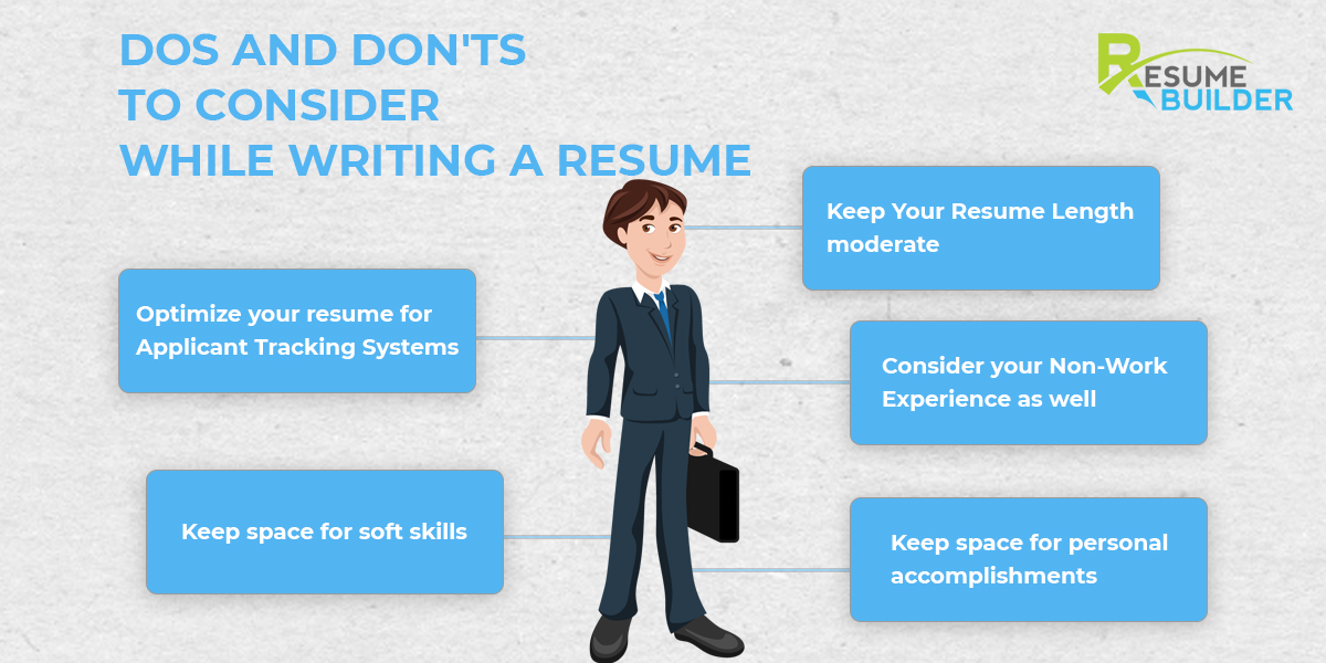DOs and DON'Ts to Consider While Writing a Resume